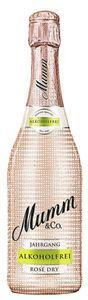 Mumm Jahrgangssekt rosé alkoholfrei 0,75 Liter
