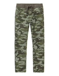 Jungen Thermo-Hose mit Camouflage-Muster