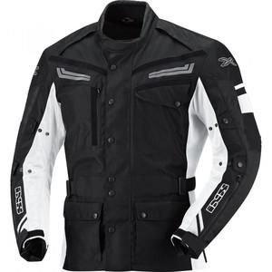 IXS            Evans Textiljacke schwarz/weiß