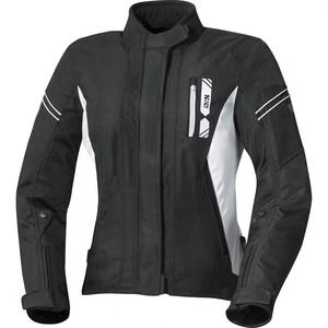 IXS            X-Damen Jacke Alana Evo schwarz/weiß