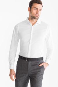 Angelo Litrico         Businesshemd - Slim Fit - Cutaway - gepunktet