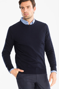 Canda         Businesshemd mit Pullover - Regular Fit - Kent