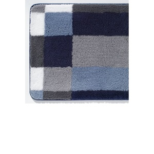 Kleine Wolke Badteppich EDGE 60 x 90 cm in Blau