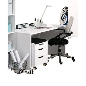 PAIDI Schreibtisch Kira 120 x 75 x 70 cm, Weiß