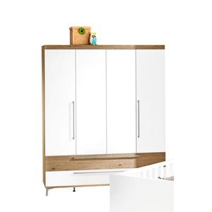 PAIDI Kleiderschrank REMO 164 x 199 x 56 cm, Weiß