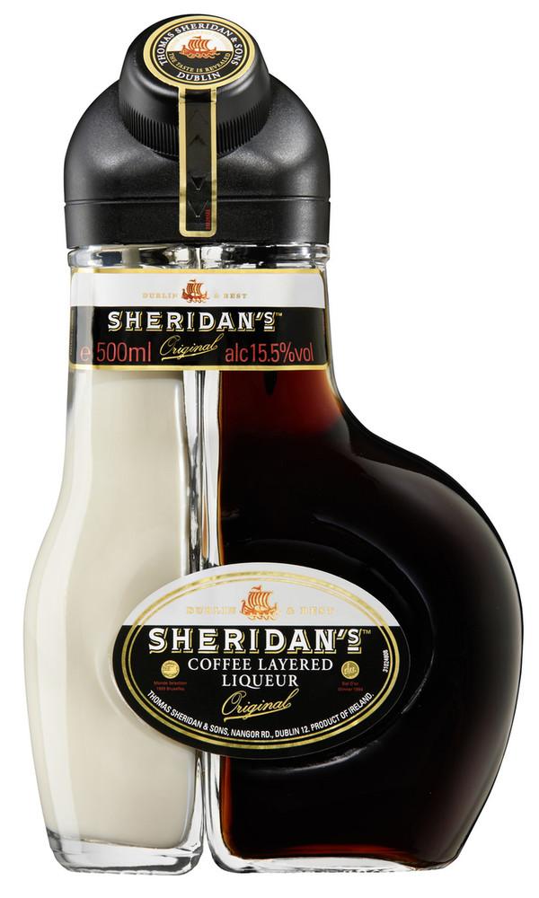 Sheridans Coffee Layered Liqueur Original 0,5 ltr