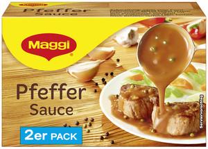Maggi Pfeffer-Sauce ergibt 2x 250 ml