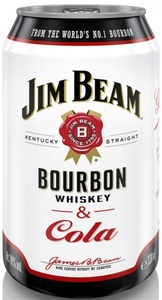 Jim Beam Bourbon & Cola Dose 0,33 ltr