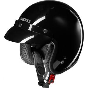 Nexo            Jethelm Basic II schwarz