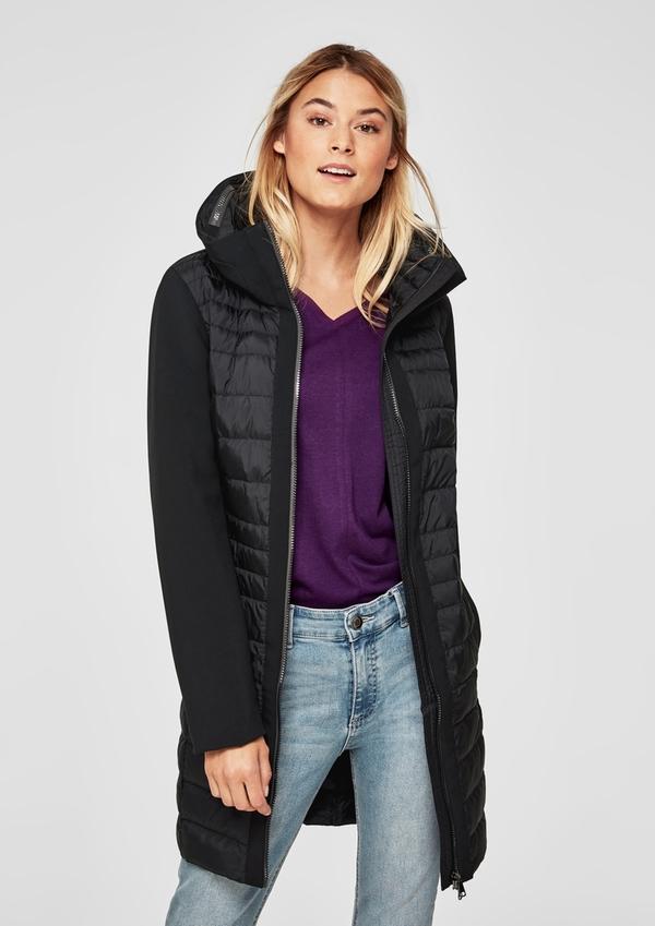 Light Down Mantel mit Kapuze kaufen   s.Oliver Shop