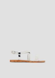 Sandalen mit Schmuckperlen
