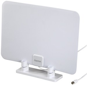 Hama DVB-T/DVB-T2-Zimmerantenne weiß