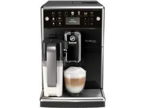 SAECO PicoBaristo Deluxe SM5570/10, Kaffeevollautomat, 1.7 Liter Wassertank, 15 bar, Klavierlack/Schwarz