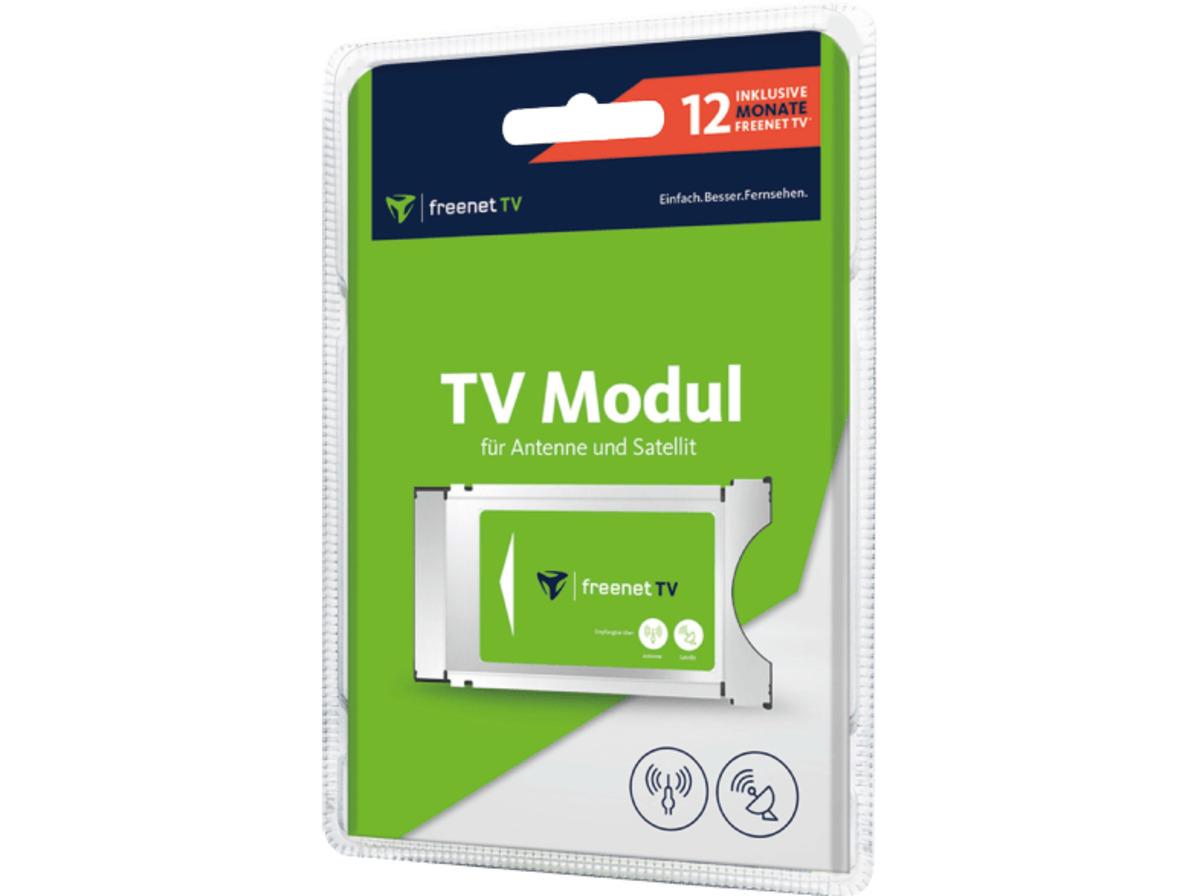 Bild 2 von FREENET TV DVB-S2/DVB-T2 Jahres Modul