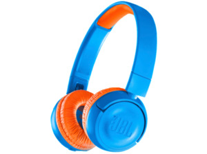 JBL JR300BT, On-ear Kopfhörer, Bluetooth, Blau/Orange