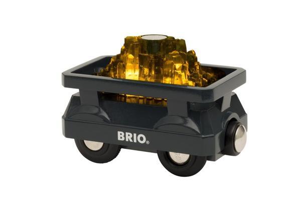BRIO World Goldwagon mit Licht