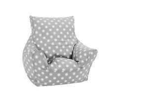 knorr toys Kindersitzsack Dots Grey