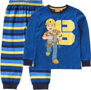 Bob der Baumeister Schlafanzug Gr. 128/134 Jungen Kinder