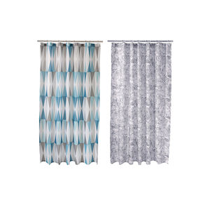 Home Duschvorhang mit Muster, ca. 180x180cm