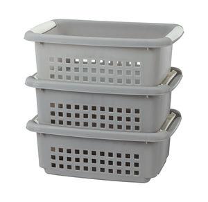 Stapelboxen im günstigen 3er Pack, ca. 29,5x20,5x11cm