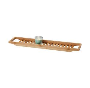 Badewannentablett aus Bambus, ca. 68x14,5cm