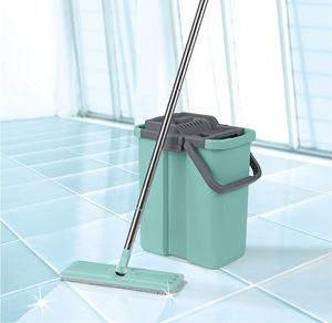 CLEANmaxx Komfort-Mopp, ca. 125cm, 8-teilig
