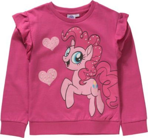 My little Pony Sweatshirt mit Volants und Perlenapplikation Gr. 104/110 Mädchen Kleinkinder