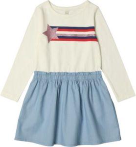 Kinder Jerseykleid Gr. 92/98 Mädchen Kinder
