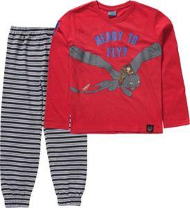 Dragons Schlafanzug Gr. 104/110 Jungen Kleinkinder