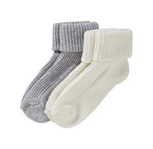 Baby-Socken mit schickem Umschlag, 2er Pack