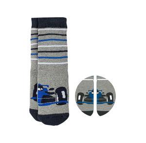 Jungen-ABS-Socken mit Fahrzeug-Motiv, 1er Pack