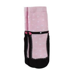 Baby-Mädchen-ABS-Söckchen mit Schuh-Design, 1er Pack