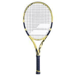 Tennisschläger Pure Aero 26 Kinder schwarz/gelb