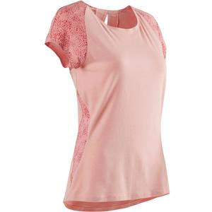 T-Shirt 520 Pilates sanfte Gym Damen hellrosa