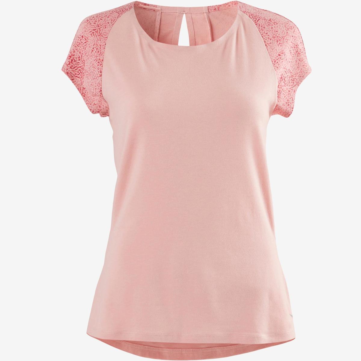 Bild 2 von T-Shirt 520 Pilates sanfte Gym Damen hellrosa