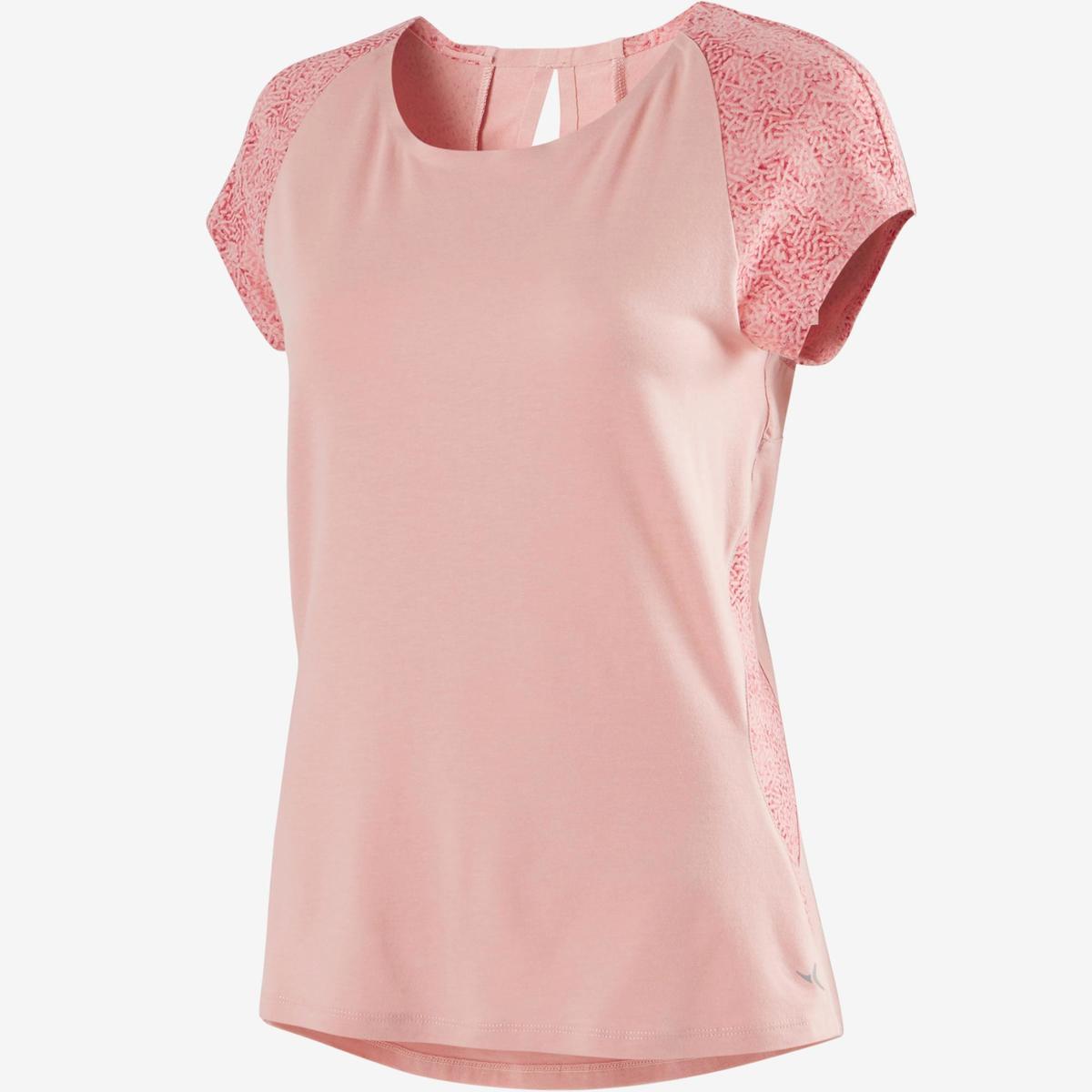 Bild 3 von T-Shirt 520 Pilates sanfte Gym Damen hellrosa