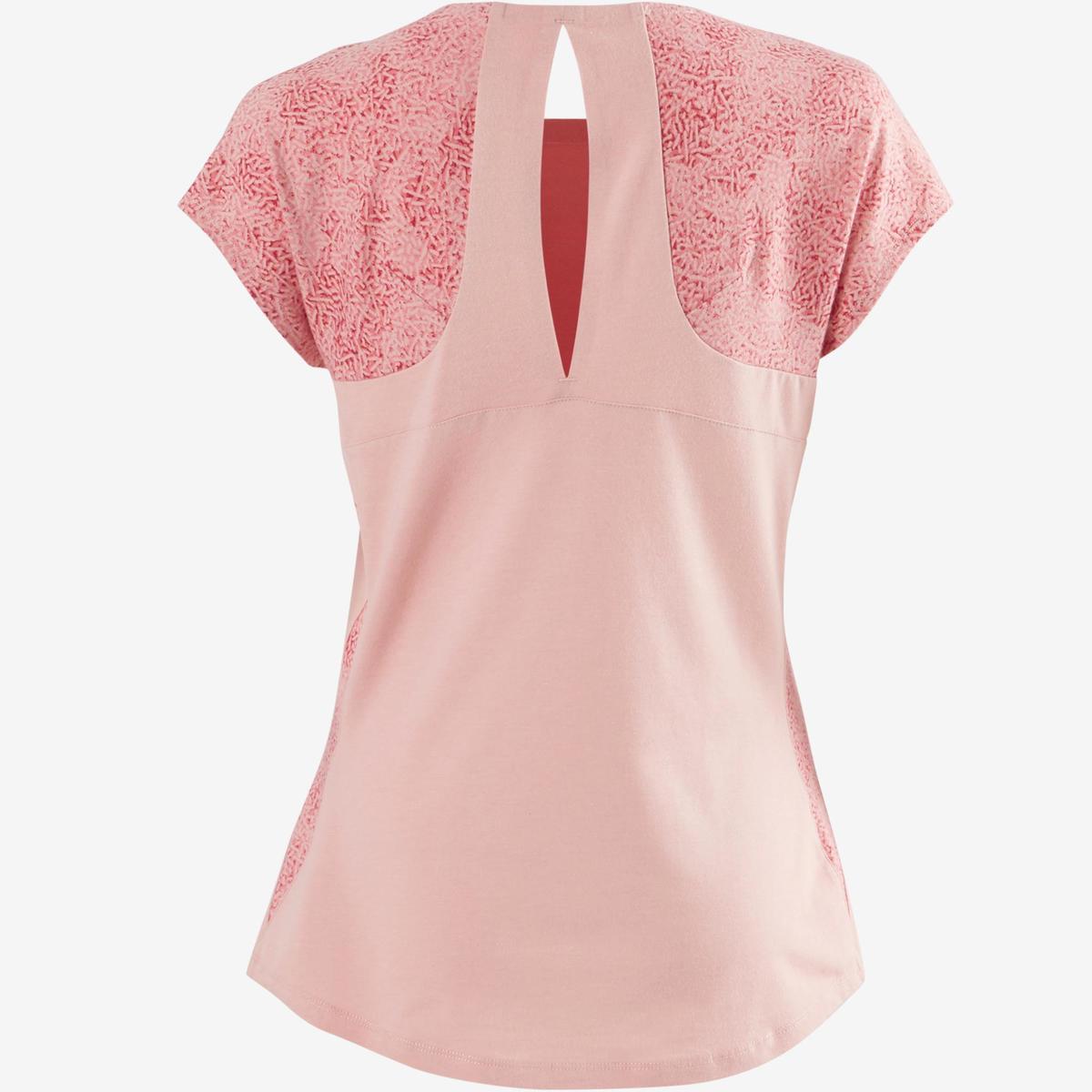 Bild 5 von T-Shirt 520 Pilates sanfte Gym Damen hellrosa