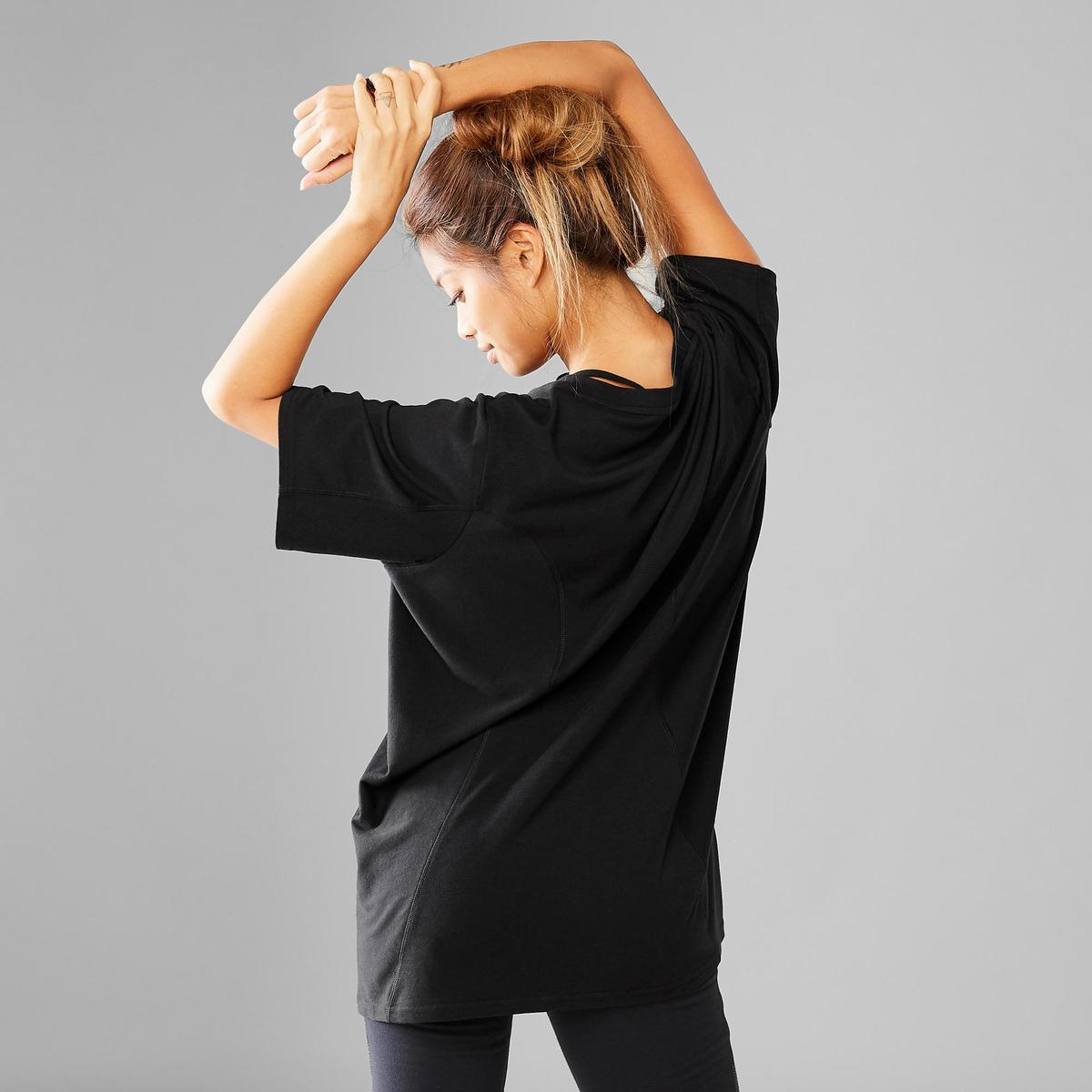 Bild 4 von T-Shirt weit Street Dance Boyfriend-Look Damen