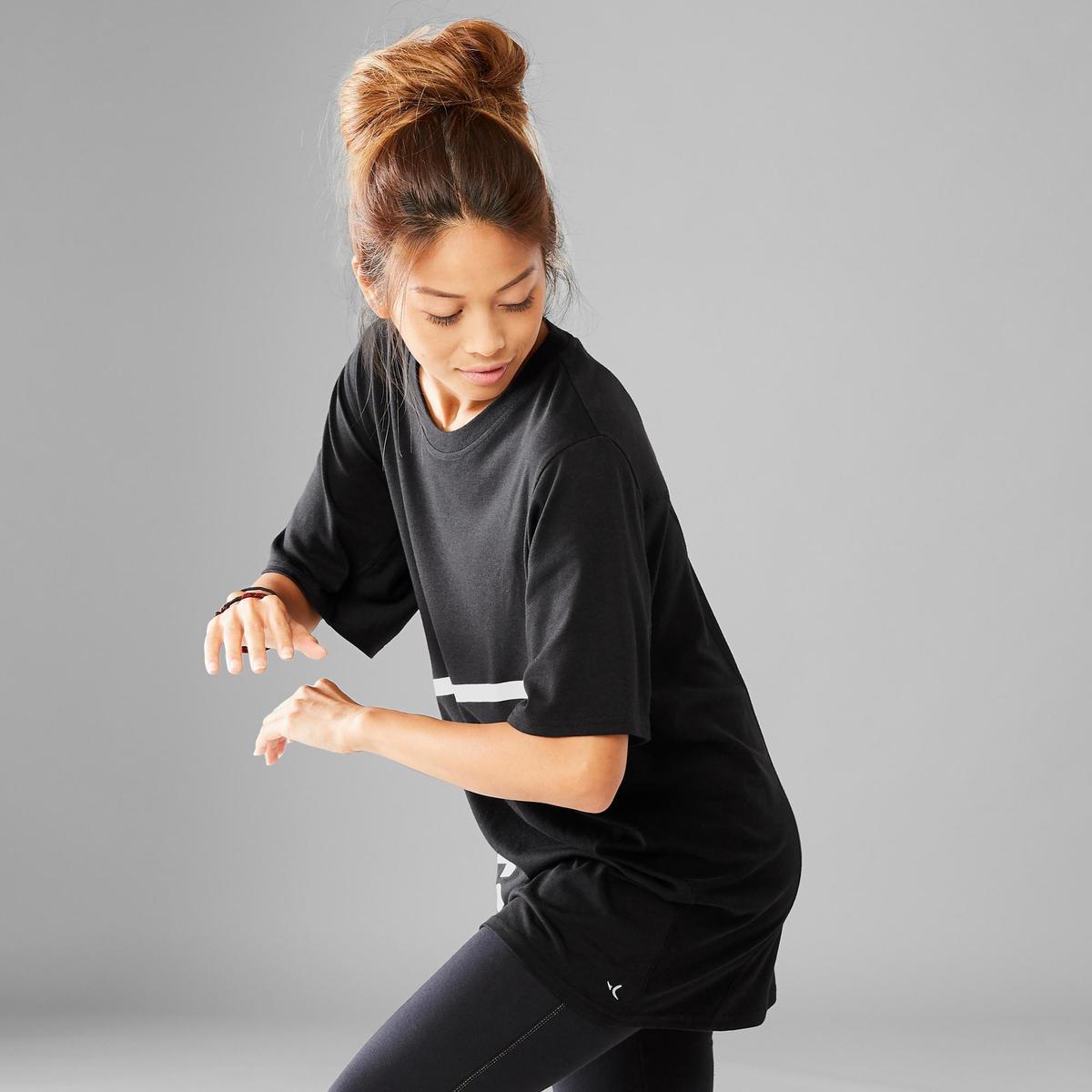 Bild 5 von T-Shirt weit Street Dance Boyfriend-Look Damen