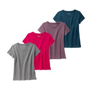 Laura Torelli COLLECTION Damen-T-Shirt in trendigen Farben