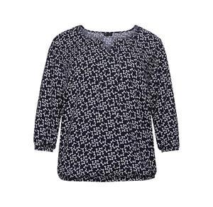 Laura Torelli plus (Gr. 44-58) Damen-Bluse mit Sternen-Muster, große Größen