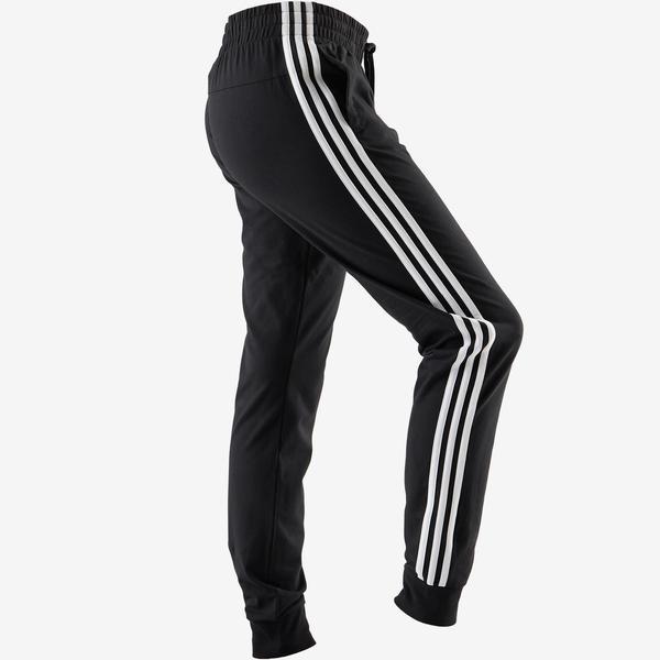 f66dd7a426266d Jogginghose 3S 500 Pilates sanfte Gymnastik Damen schwarz von ...