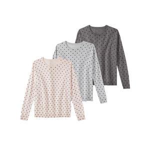 Laura Torelli COLLECTION Damen-Pullover mit Punkte-Muster