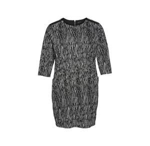 Laura Torelli plus (Gr. 44-58) Damen-Kleid mit trendigem Muster, große Größen