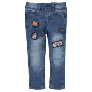 Jungen Slim Jeans mit Badges