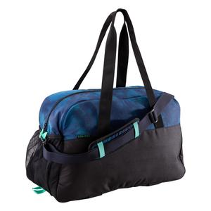Sporttasche Fitness 30 l blau/schwarz/grün