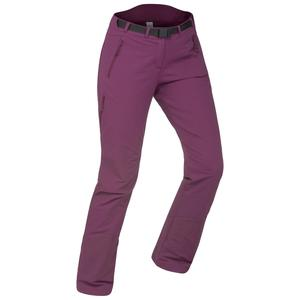 Softshellhose Winterwandern SH500 X-Warm Stretch Damen violett