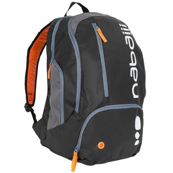 Schwimmrucksack 34 L schwarz/orange