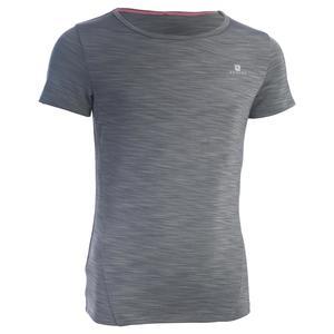 T-Shirt Kurzarm S500 Gym Kinder grau
