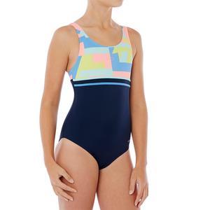 Badeanzug Loran Mädchen blau